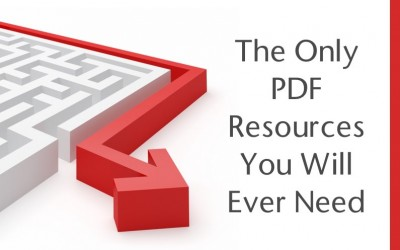 The Only PDF Resources You Will Ever Need