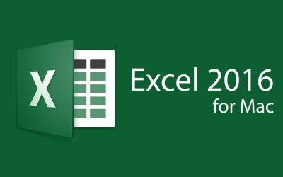 Microsoft Excel 2016 for Mac